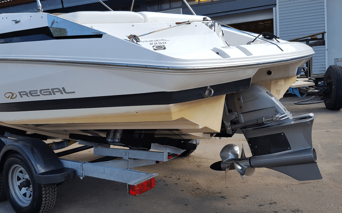 Forward drive volvo penta regal 2250
